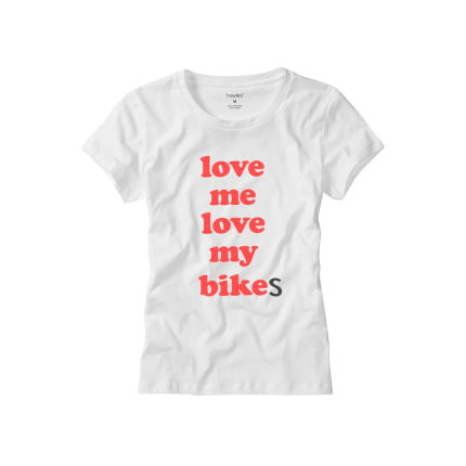 howies Women's Love Bikes T-shirt