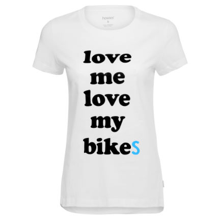 howies Love Bikes Shirt Frauen