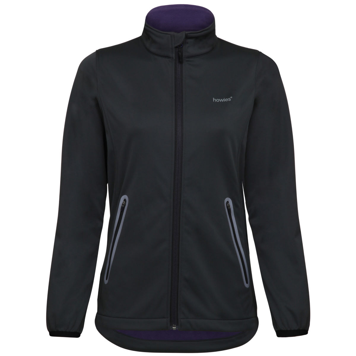 Veste Femme howies Softshell - XS Pirate Black Vestes Softshell