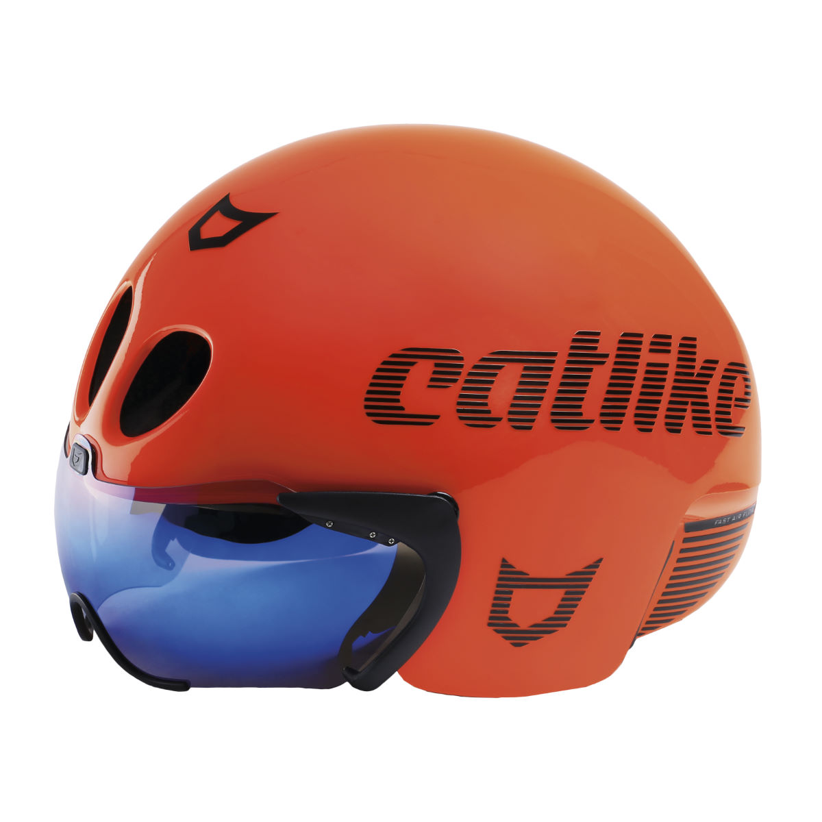 Casque de triathlon Catlike Rapid - Taille unique Orange Casques de route