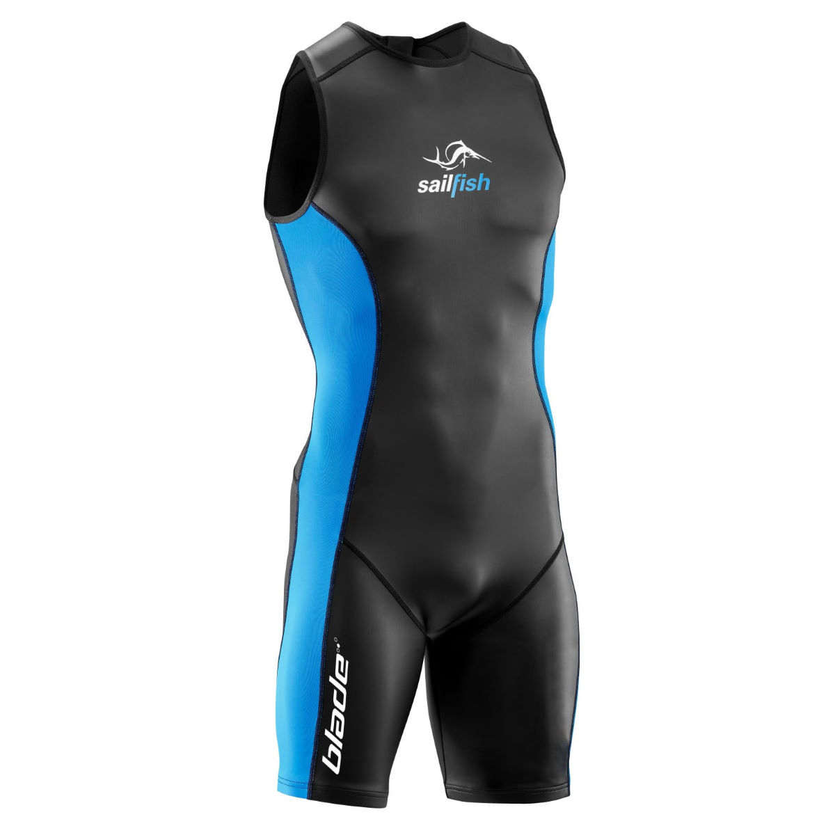 Sailfish Neoprene Shorty Blade Wetsuit - X Small Black/Blue | Wetsuits