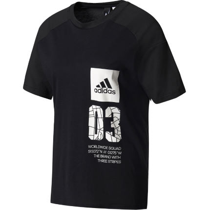 T-Shirt donna Adidas ID London
