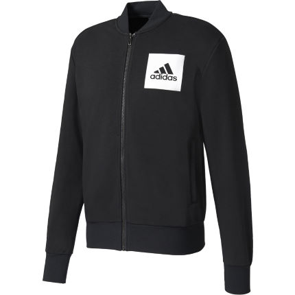 Adidas Essential Bomber Full Zip Top
