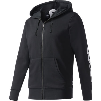 Adidas Essentials Linear FZ FT hoodie