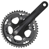 Shimano 105 CX50 Double 10sp Chainset Black