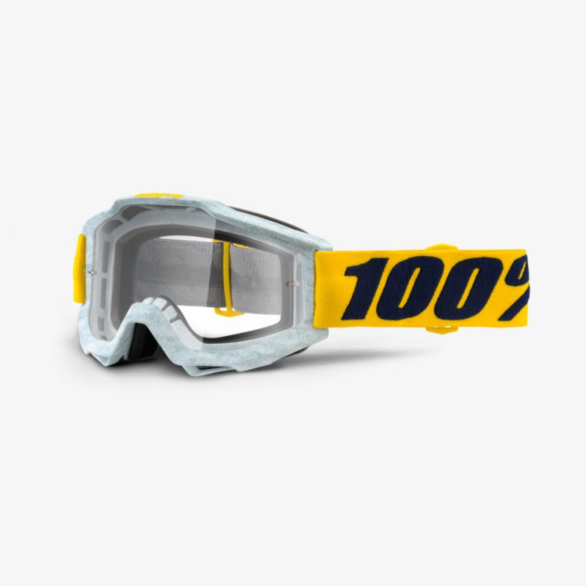 100% Accuri Goggles - One Size Athleto - Clear Lens