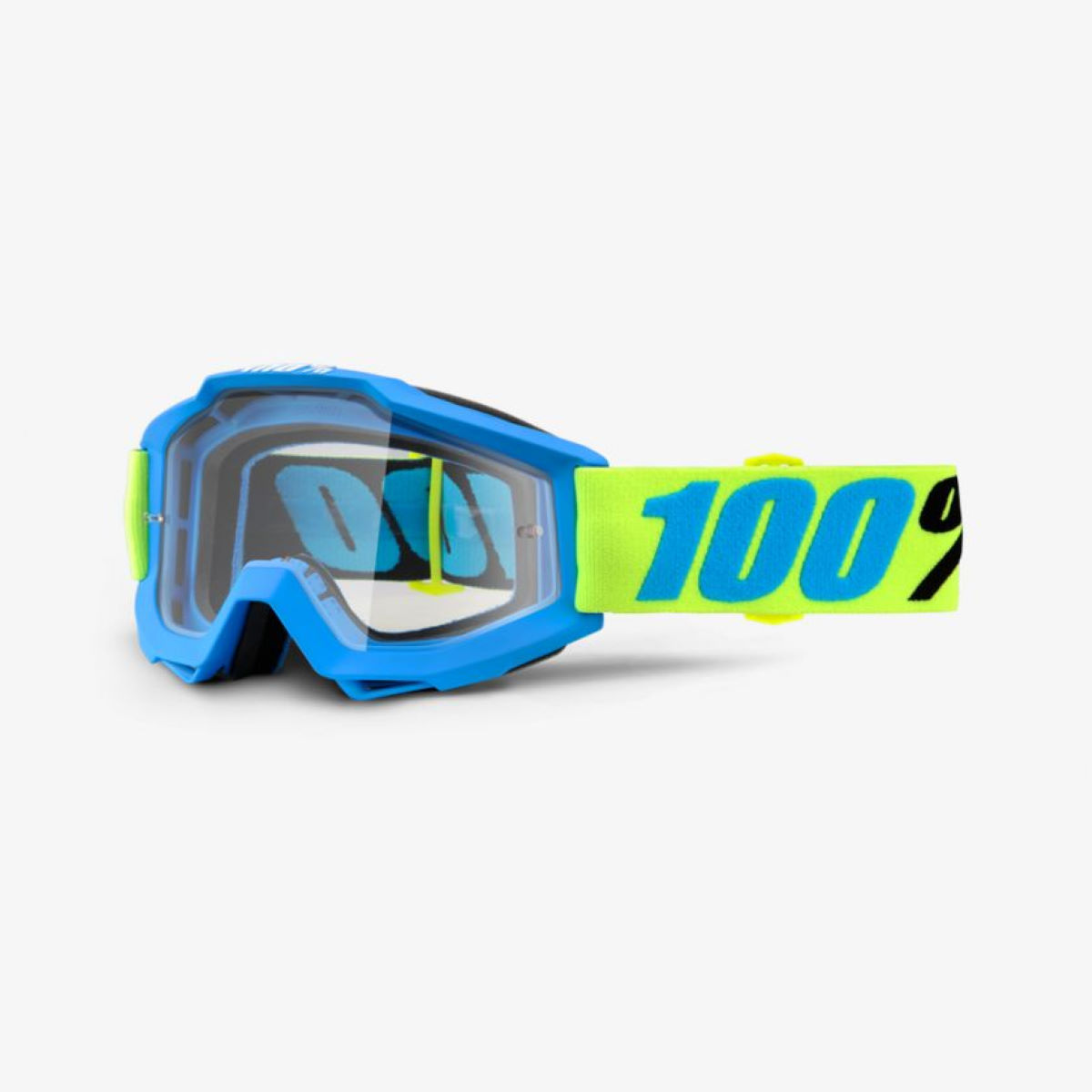 100% Accuri Goggles - One Size Belize - Clear Lens