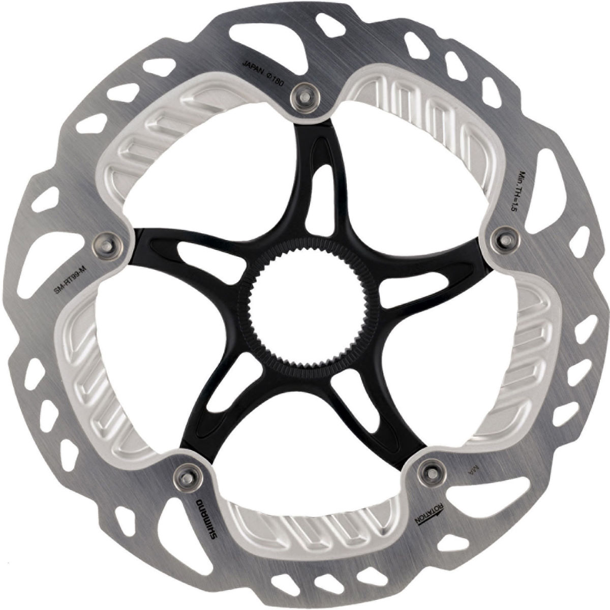 Disque Shimano RT99 Ice-Tech FREEZA CL - 180mm Argenté