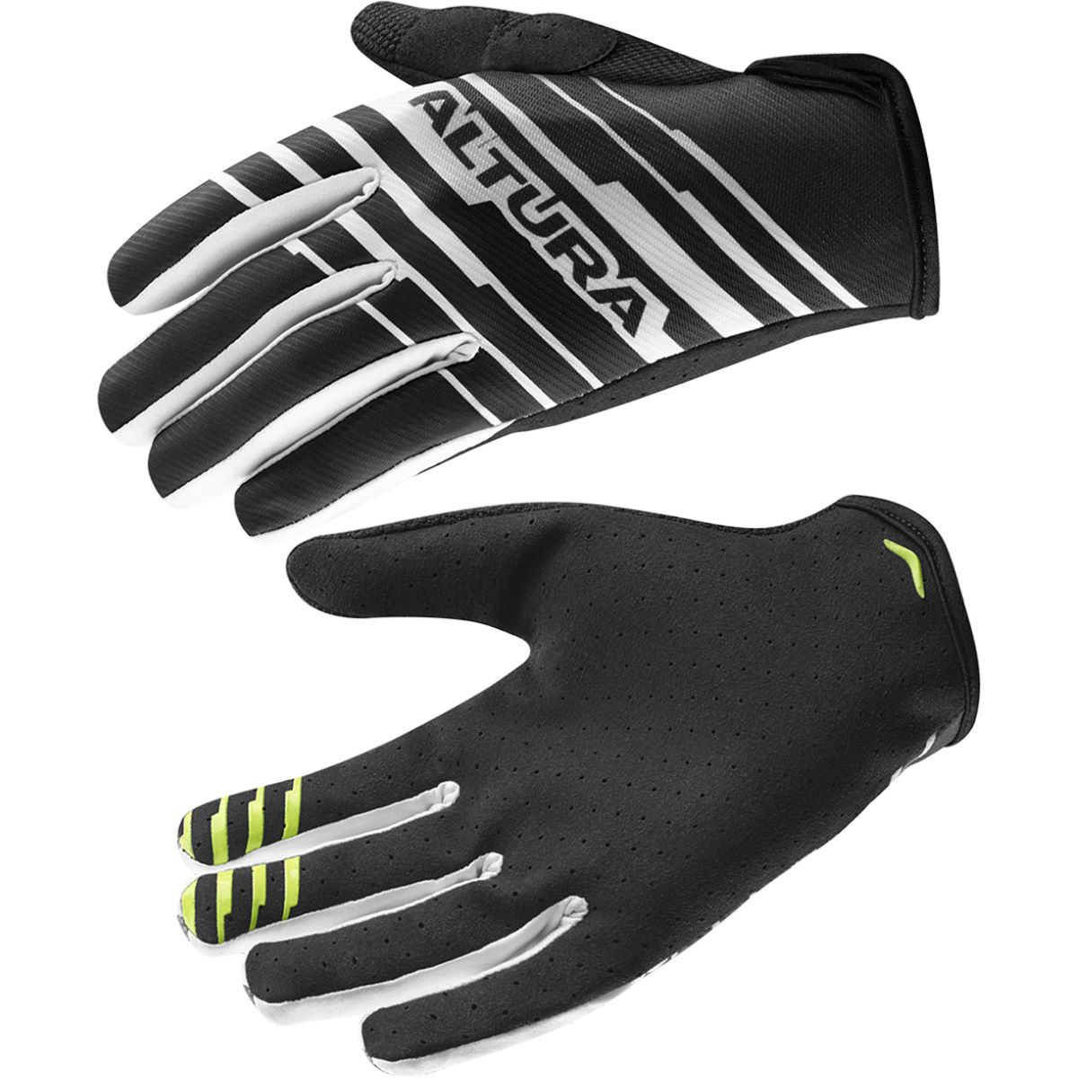 Altura One\80 G2 Gloves - L Black - White | Long Finger Gloves