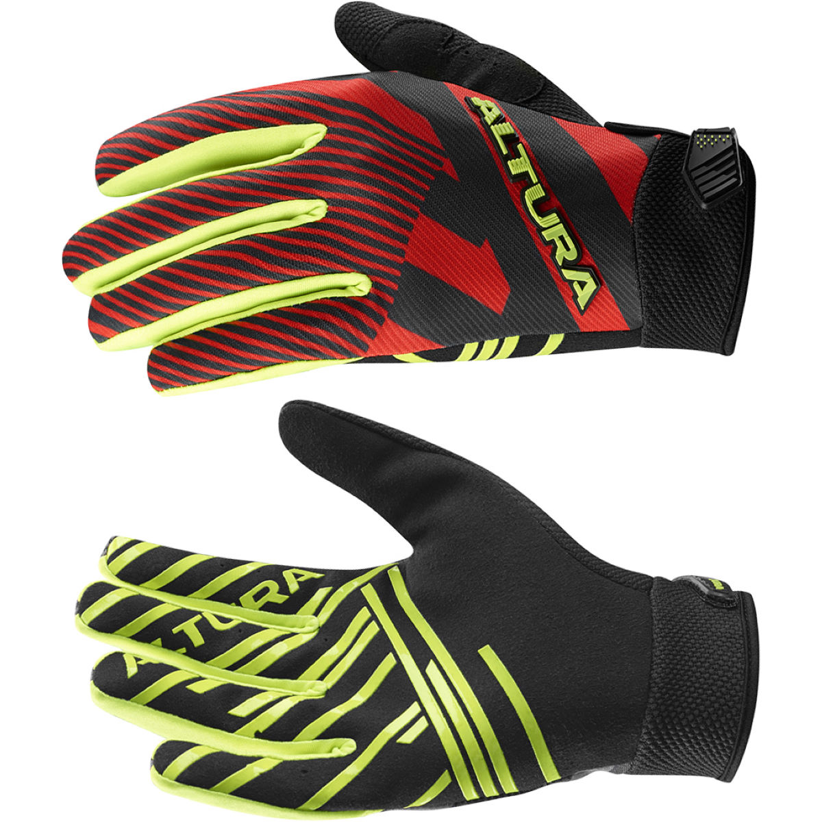 Gants Altura Three60 G2 - S Red - Black Gants