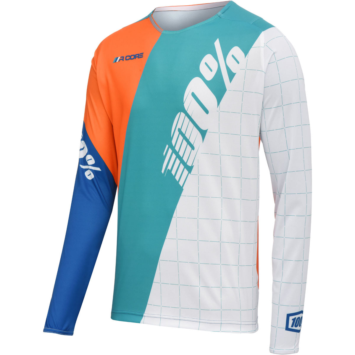 Maillot Enfant 100% R-Core DH - S Blanc Maillots