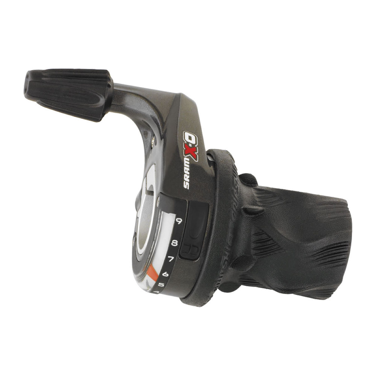 Commande SRAM X0 Twister (9 vitesses) - 9 Speed Noir