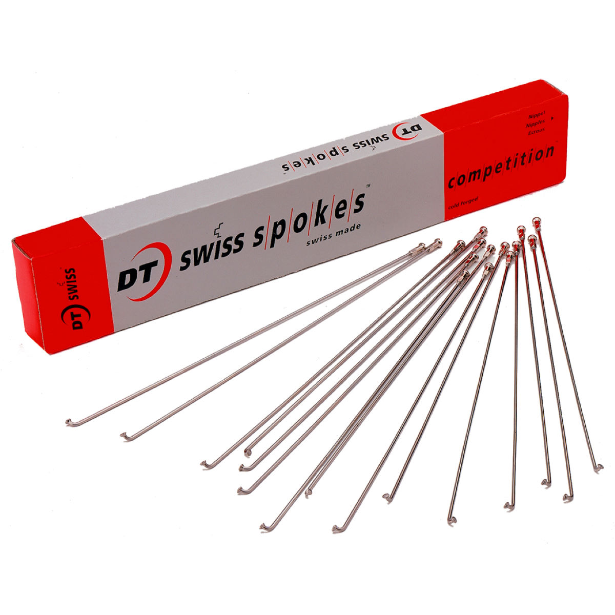 DT Swiss Champion PG Silver Spokes - 18 Pack - Radios