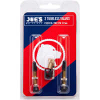 Joes No Flats Tubeless Presta Valve Kit:Black:40mm:Presta 40mm