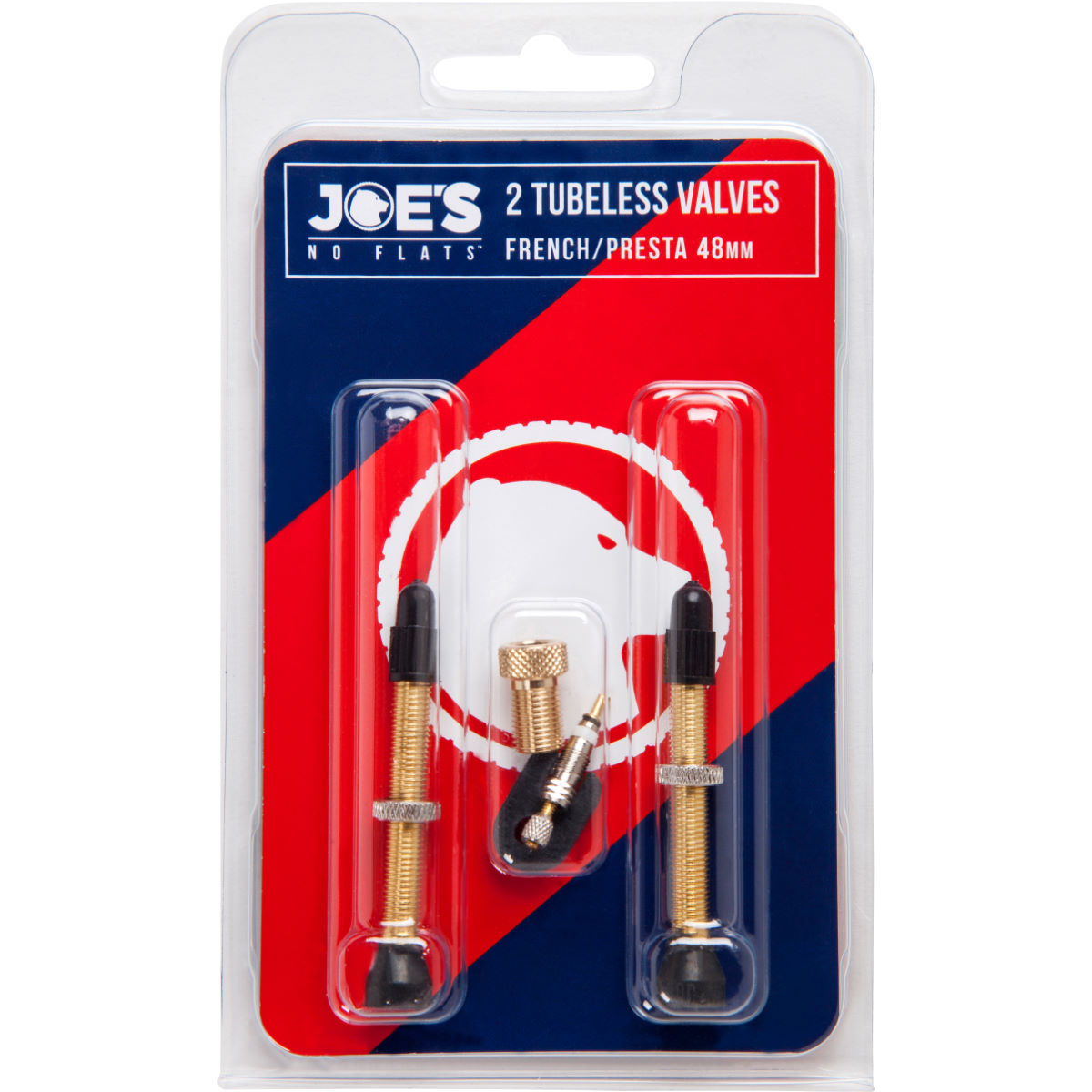 Kit de valve Presta Joe's No Flats Tubeless - 48c 48mm Presta