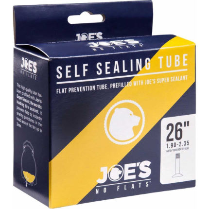 Joe's No Flats Yellow Gel Self Sealing Inner Tube