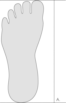 Nike foot length measurement diagram