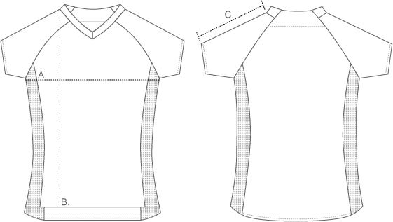 Troy Lee Short Sleeve Jersey Measurements