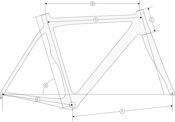De Rosa Merak Evo Geometry Diagram