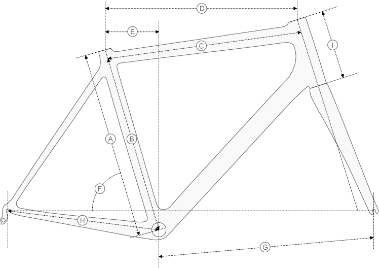 Colnago Ace Geometry Diagram