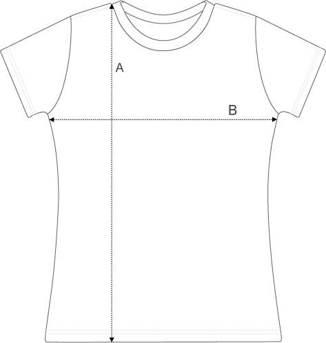 Velolove womens t-shirt sizing