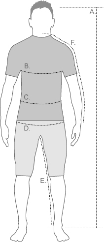 Helly Hansen Mens Measurement Diagram