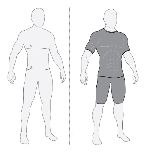 dhb mens form fit