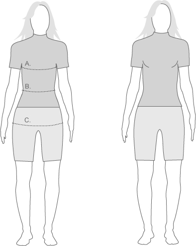 Moa Womens Measure Diagram