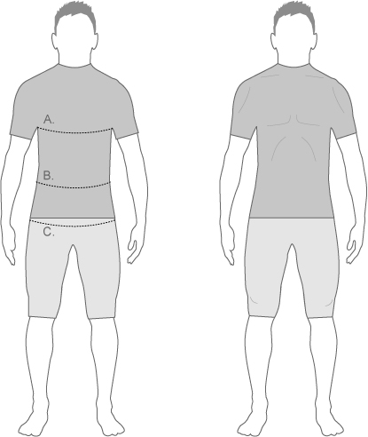 Moa Mens Measure Diagram