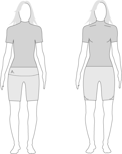 Assos Womens Measurement Diagram