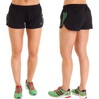 Internal | adidas | Ladies Adizero Split Short SS11 | Wiggle