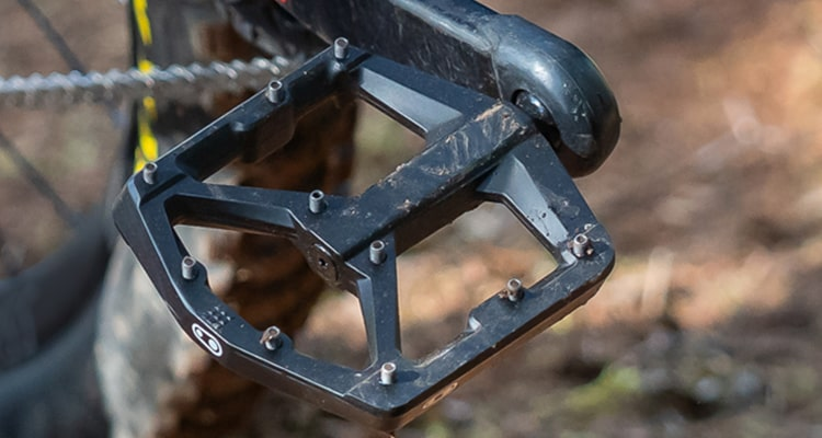 Crankbrother black flat pedals