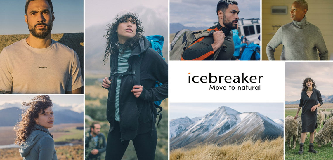 Icebreaker Autumn Winter Clothing Collection
