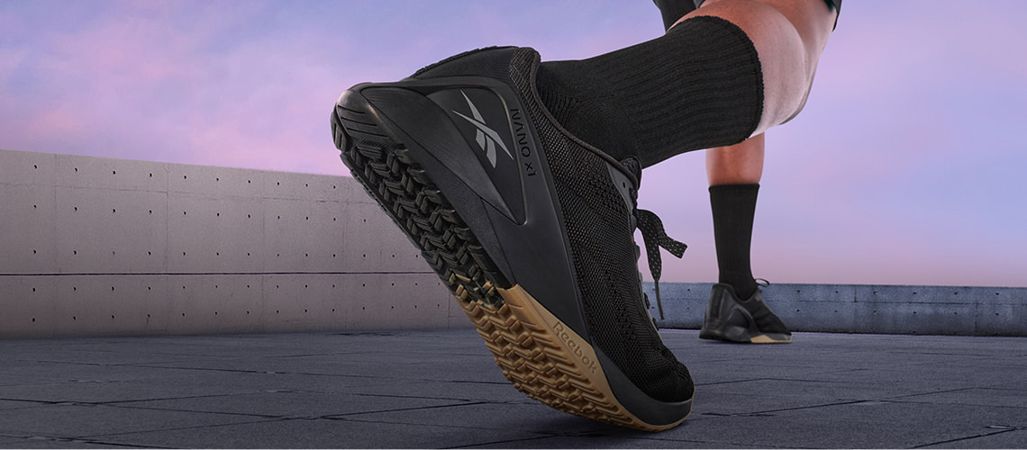 New Reebok Nano X in black