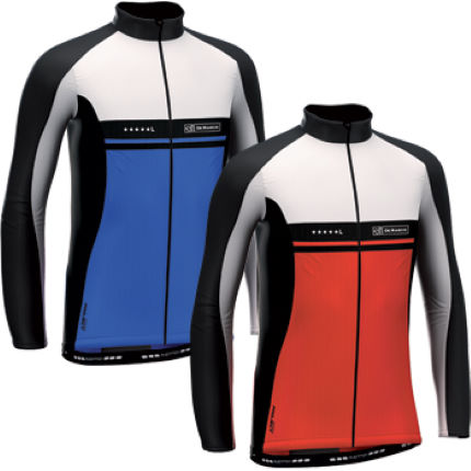 View in 360° 360° Play video. 1.  . 3. Contour Ti Long Sleeve Jersey  Blue   Red. Ideal on transitional ... 563750d3e