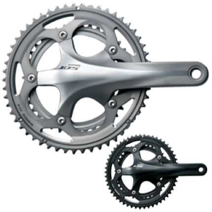 acd95b291c4 Wiggle | Shimano 105 5700 Hollowtech II Double Chainset | Chainsets