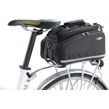Wiggle Topeak Trunk Bag Dxp Velcro With Side Panniers
