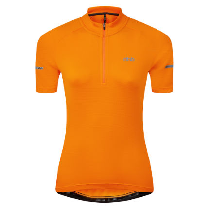 dhb Womens Short Sleeve 1/4 Zip Jersey