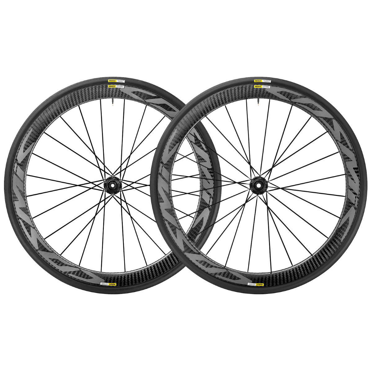 Wheel set Mavic Cosmic Pro Carbon Disc (WTS, 6 screws) - Competition wheels