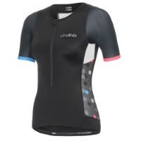 dhb Womens Blok Short Sleeve Tri Top