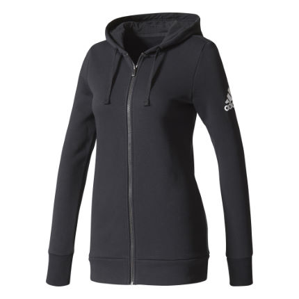 adidas Women's Essentials Solid Full Zip Hoodie