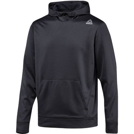 Reebok Workout Ready Elitage Grid Fleece Gym Hoodie