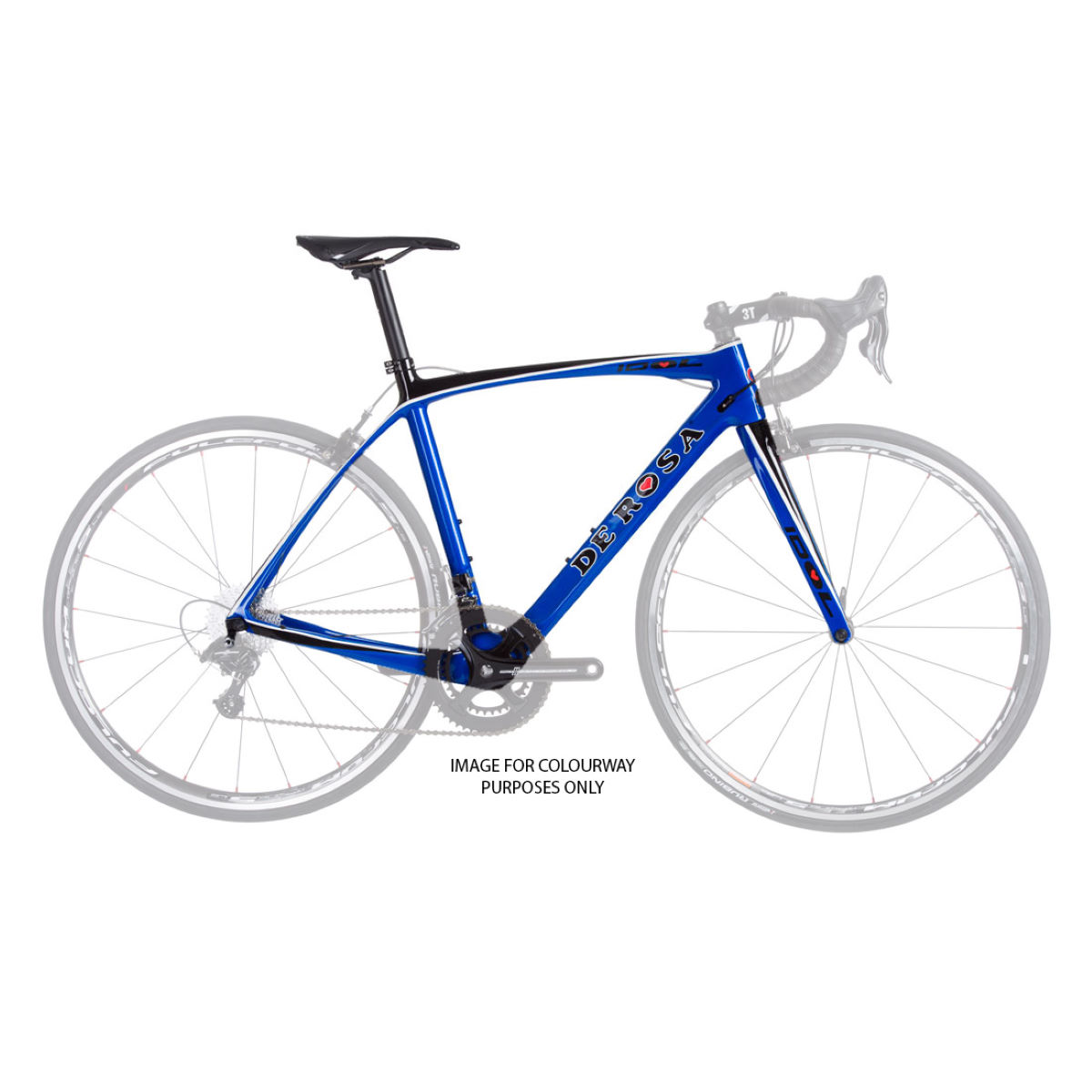 De rosa idol chorus 2017 road bike internal blue gloss 2017 deridolbkchorqbg47 0
