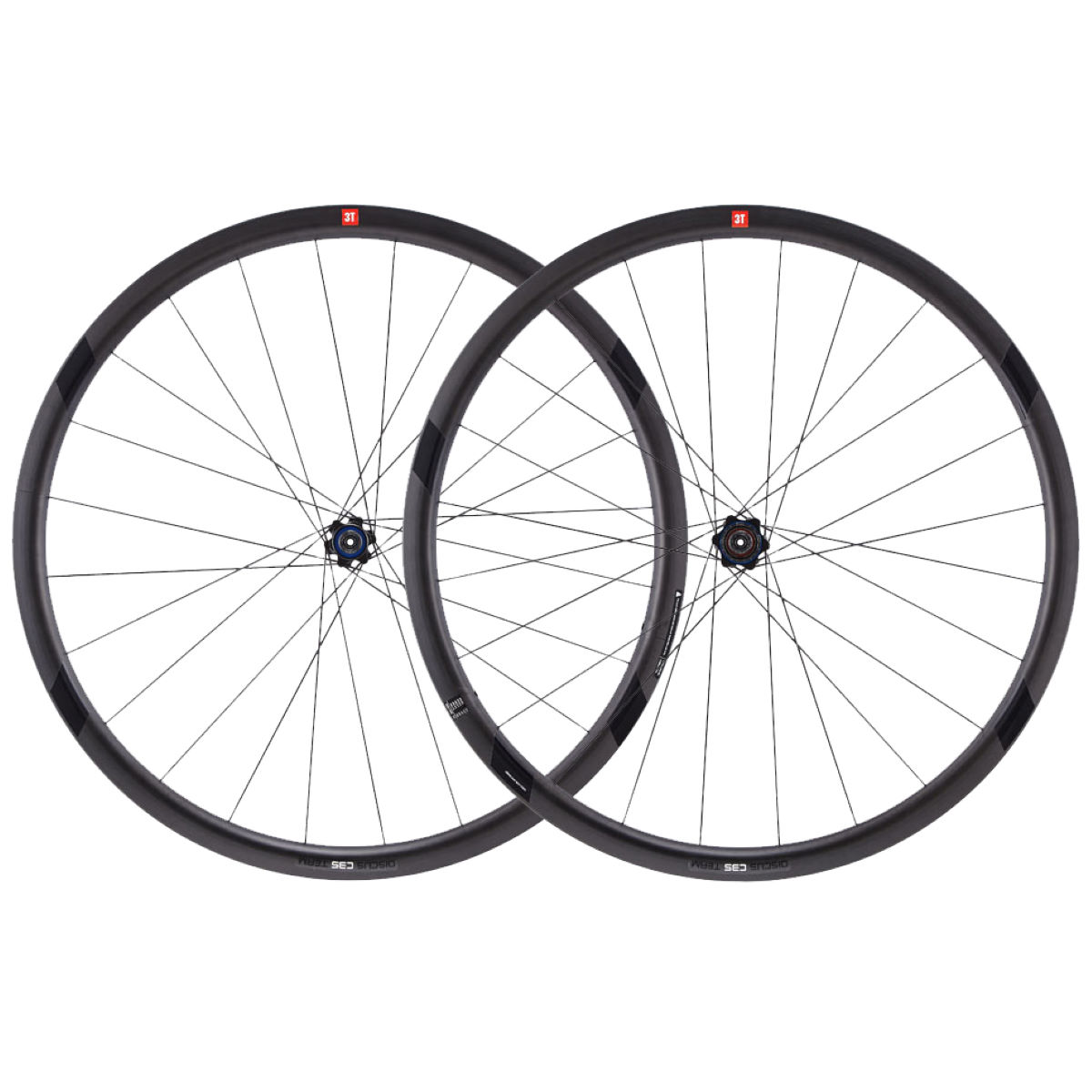 3T 3T Discus C35 Team Stealth Wheelset (Shimano)   Wheel Sets