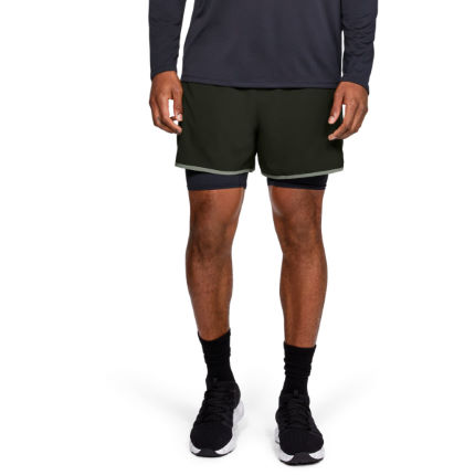 b1343bc3 Wiggle | Under Armour Qualifier 2-in-1 Gym Short | Shorts