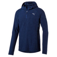 Puma Hooded Long Sleeve Run Top