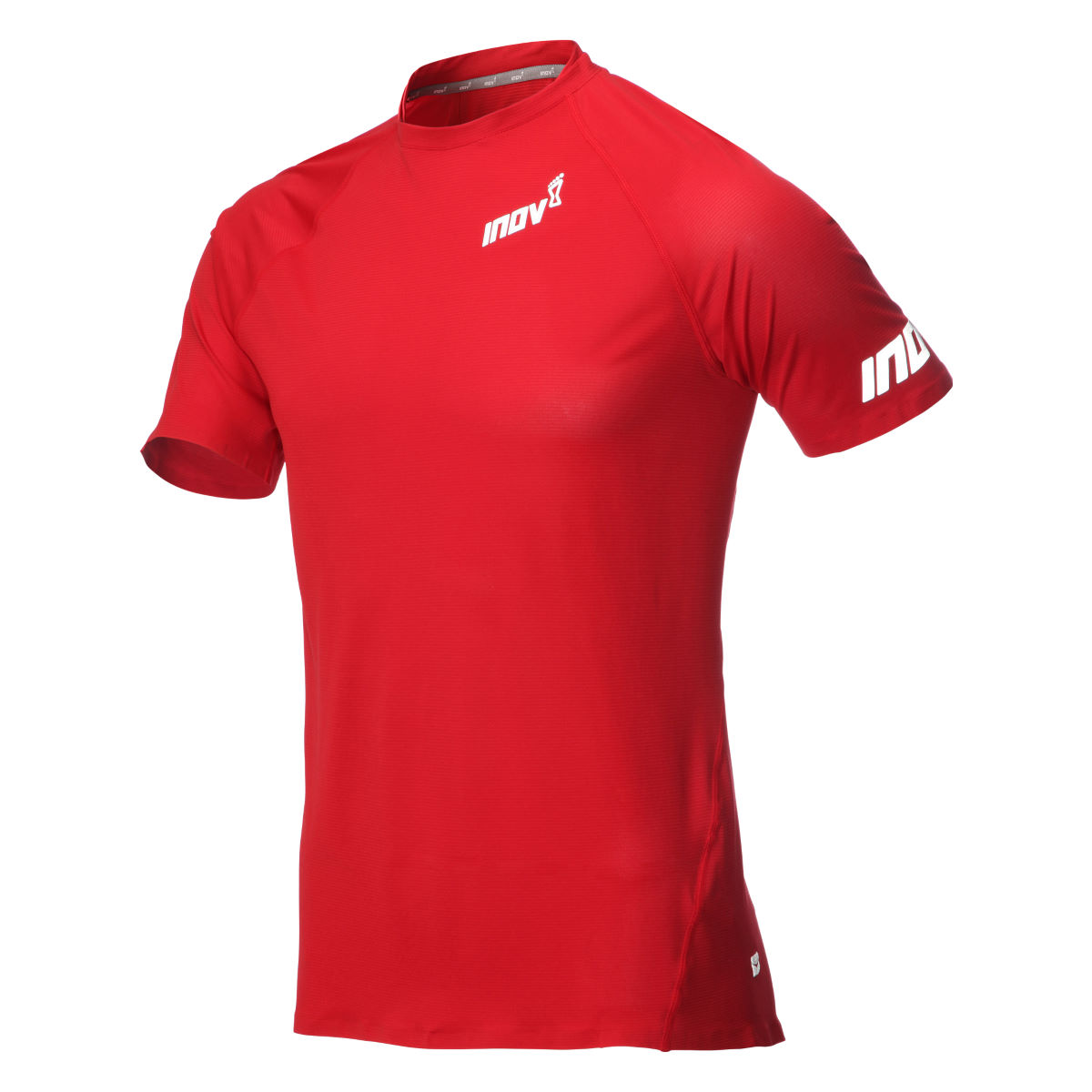Maillot de corps Inov-8 AT/C (manches courtes) - M Dark Red  T-shirts