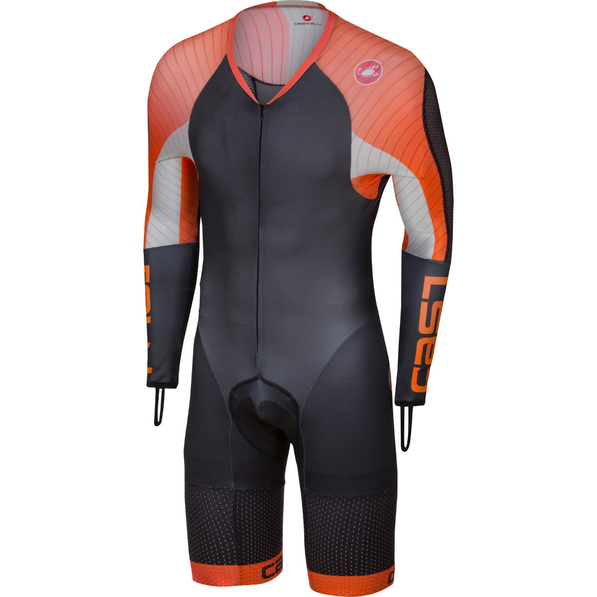 Combinaison Castelli Body Paint 3.3 Speed - S Noir/Orange