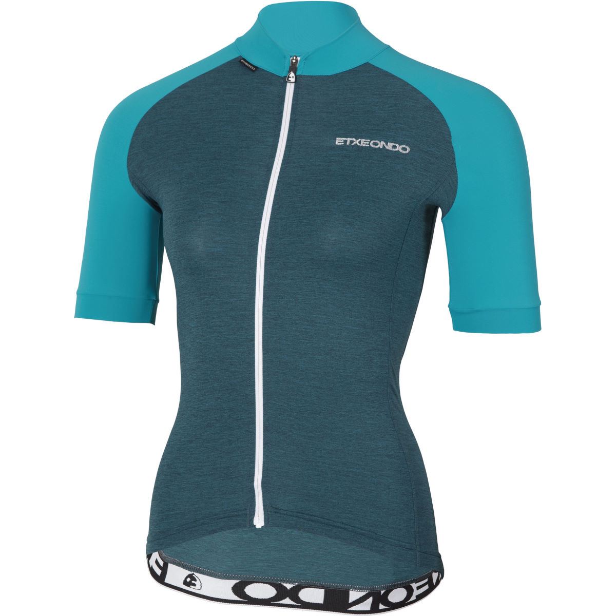Image of Maillot Femme Etxeondo Terra (manches courtes) - L Bleu | Maillots