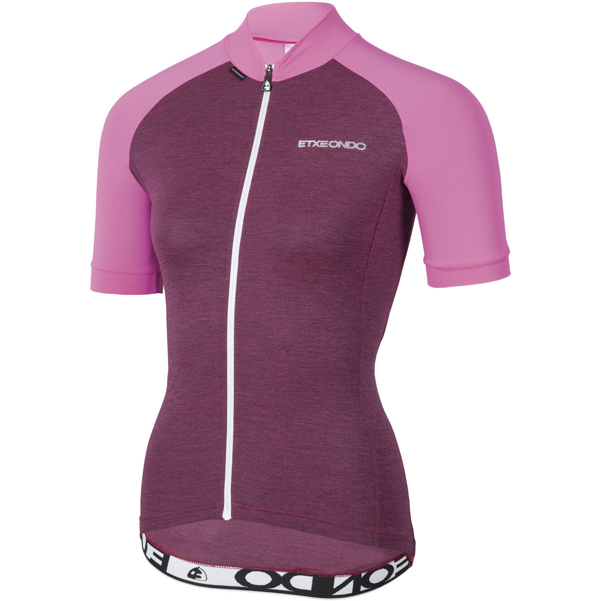 Image of Maillot Femme Etxeondo Terra (manches courtes) - M Pink Fluro